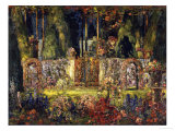 The Manor Gates Giclee Print by Tom Mostyn