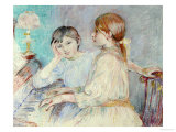 Le Piano, 1888 Giclee Print by Berthe Morisot
