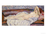 Reclining Nude Giclee Print by Théo van Rysselberghe