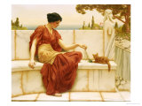 The Favourite, 1901 Print by John William Godward
