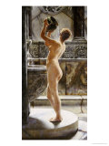 The Bath Giclee Print by John Reinhard Weguelin