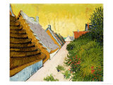 Farmhouses at Saintes-Maries, June 1888 Giclee Print by Vincent van Gogh
