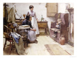 The Waif, 1889 Prints by Walter Langley