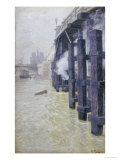 La Seine En Decembre, circa 1892 Giclee Print by Fritz Thaulow