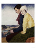 The Meeting Place, 1915 Giclee Print by William Strang