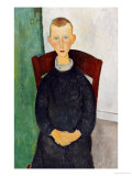 The Caretaker's Son, 1918 Giclee Print by Amedeo Modigliani