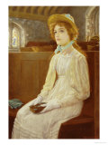 Faith Giclee Print by Arthur Hughes