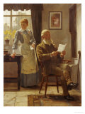 The Letter, 1898 Giclee Print by James Hayllar