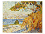 Countryside at Noon Prints by Théo van Rysselberghe