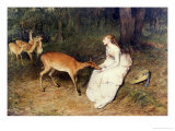 The Forest Pet, 1871 Premium Giclee Print by Sir William Quiller Orchardson