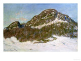 Mount Kolsaas in Sunlight, 1895 Reproduction procédé giclée par Claude Monet