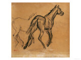 Horses, circa 1882 Giclee Print by Edgar Degas