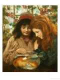 The Goldfish Bowl Giclee Print by William Stewart Macgeorge