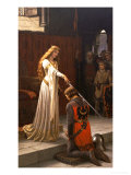The Accolade, 1901 Prints by Edmund Blair Leighton
