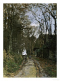 A Normandy Path Prints by Claude Monet