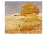 The Great Sphinx at Gizeh, 1862 Prints by George Price Boyce