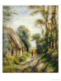 The Outskirts of Berneval Posters by Pierre-Auguste Renoir