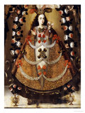 The Virgin of Pomata, School of la Paz, 17th Century Giclee Print by Leonardo Flores