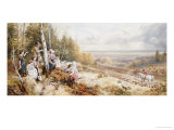 The Meet Prints by Myles Birket Foster