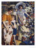 The Christmas Tree Prints by Elizabeth Adela Stanhope Forbes