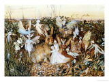 Fairy Twilight Prints by John Anster Fitzgerald