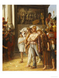 Caratacus Being Paraded by the Emperor Claudius, AD 50 Giclee Print by Thomas Davidson