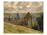 Dieppe Giclee Print by Claude Monet