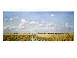 Summer, 1872 Giclee Print by Camille Pissarro