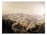 A View of Jerusalem Prints by Friedrich Perlberg