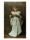 The Child Bride, 1883 Lmina gicle por John Collier