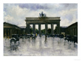 The Brandenburg Gate Giclee Print by Lesser Ury