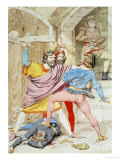 The Death of Richard II, 1852 Posters by Richard Dadd
