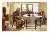 A Poor Man's Meal, 1891 Posters by Walter Langley