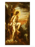Prometheus Bound Giclee Print by Gustave Moreau