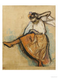 The Russian Dancer Giclee Print by Edgar Degas