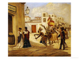 Carnaval Giclee Print by Victor Patricio Landaluze
