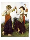 La Tarantella, 1879 Giclee Print by Léon Jean Basile Perrault