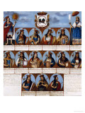 The Inca Dynasty, Peruvian School, Late 18th Century Giclee Print