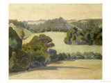West Country Landscape Giclée-Druck von Robert Bevan
