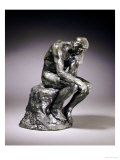 The Thinker Giclee Print by Auguste Rodin