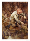 Netting Lobster Posters by Henry Scott Tuke