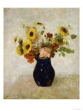 Vase de Fleurs Giclee Print by Odilon Redon