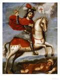 Santiago Matamoros, Mexican School, 18th Century Posters
