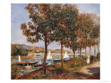 The Bridge at Argenteuil Prints by Pierre-Auguste Renoir