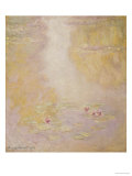 Water Lilies, Giverny, 1908 Giclee Print by Claude Monet