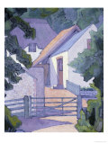Morning, the South Downs Giclee Print by Robert Bevan