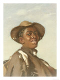 A Negro, Head and Shoulders Giclee Print by Frank Buchser