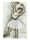 Study of a Dancer Posters by Edgar Degas