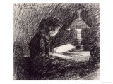 The Lesson Giclee Print by Henri Fantin-Latour