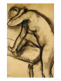 Study of a Dancer Prints by Edgar Degas